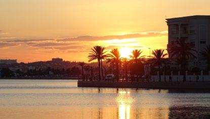 Bucht in Tunis
