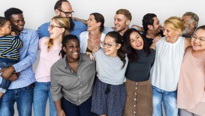 Gruppenfoto Miteinander Vielfalt leben