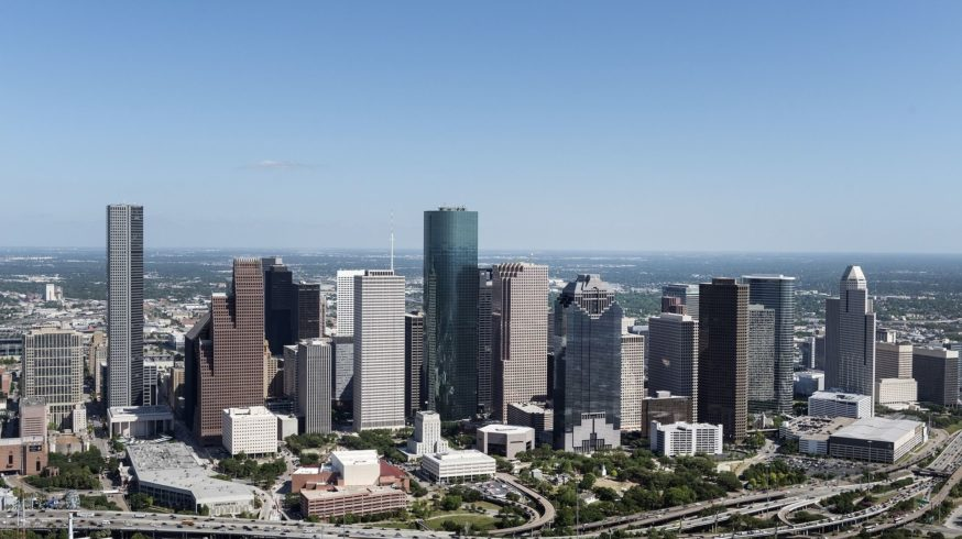 Skyline in Houston