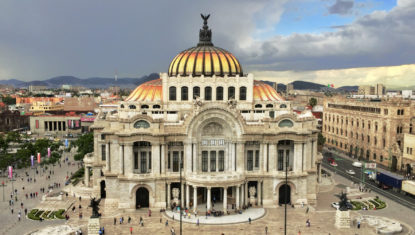 Palacio Bellas Artes in Mexiko-Stadt