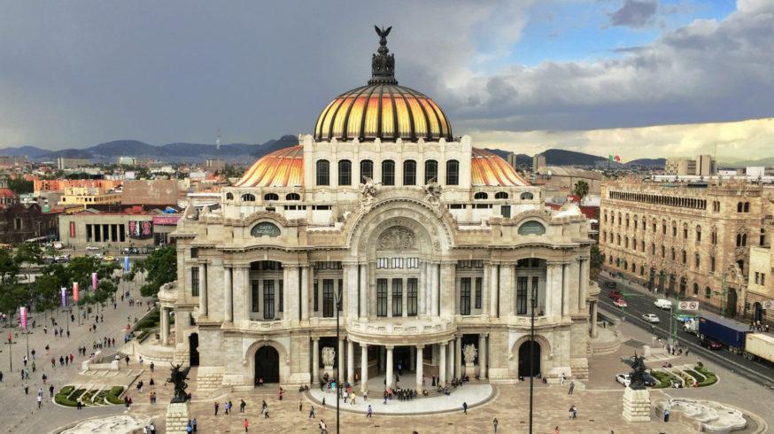 Palacio Bellas Artes in Mexiko-Stadt