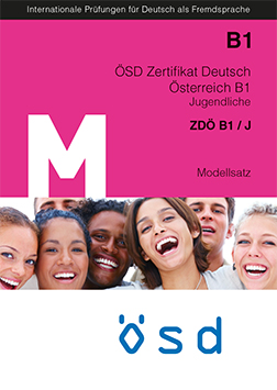 Cover Modellsatz ÖSD ZDÖ B1 Jugendliche