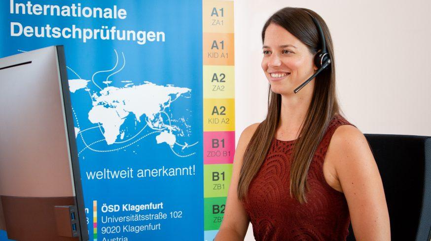 Die neue Online Probeprüfung des ÖSD- gleich anmelden!