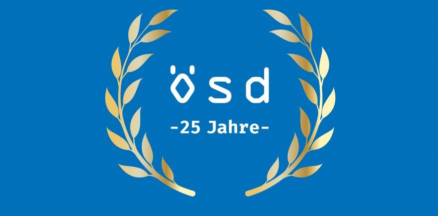 We say THANK YOU for 25 years of ÖSD
