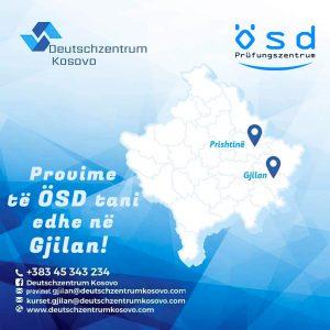 Deutschzentrum Kosovo Gjilan