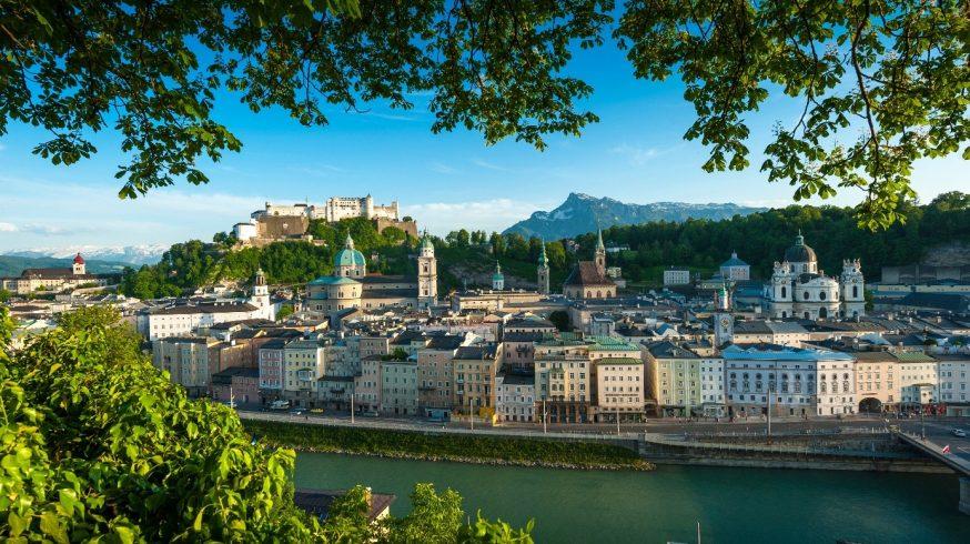Im Herzen der Stadt Salzburg