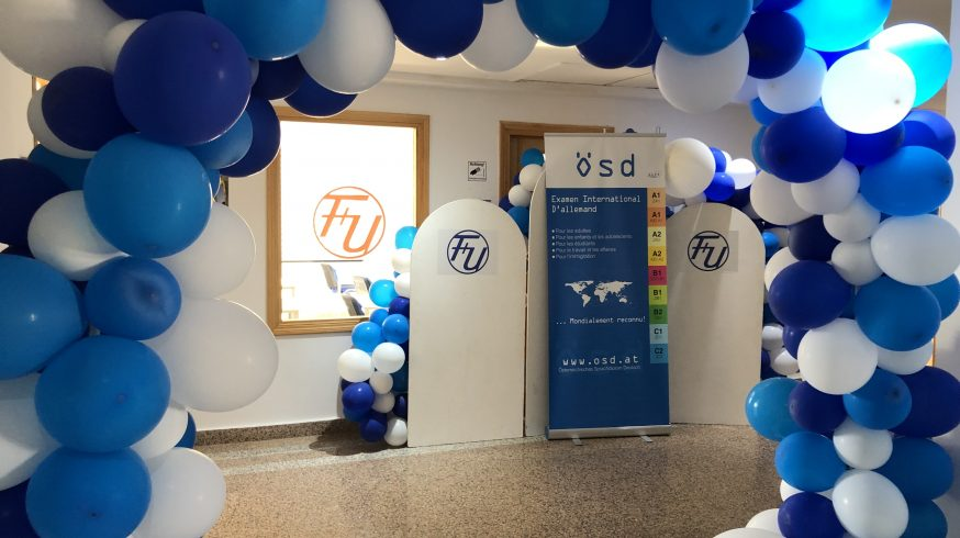 Die F+U Academy of Languages in Tunis feiert die Eröffnung des ÖSD-Prüfungszentrums.